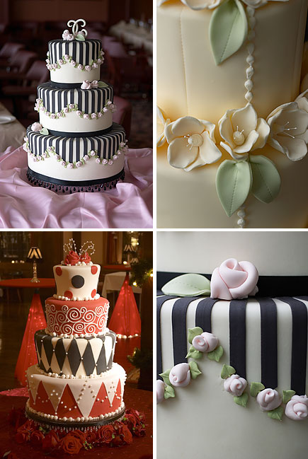 gateaux cakes - minneapolis wedding
