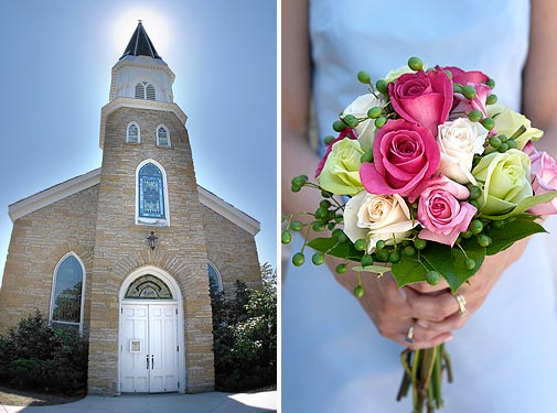 St. Peters Church wedding